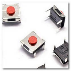 Кнопка тактовая водонепроницаемая 6х6х3