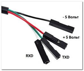 Конвертер USB - UART TTL PL2303TA
